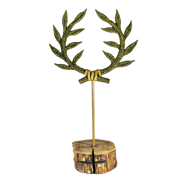 kotinos olive wreath uniqueness luxury gift