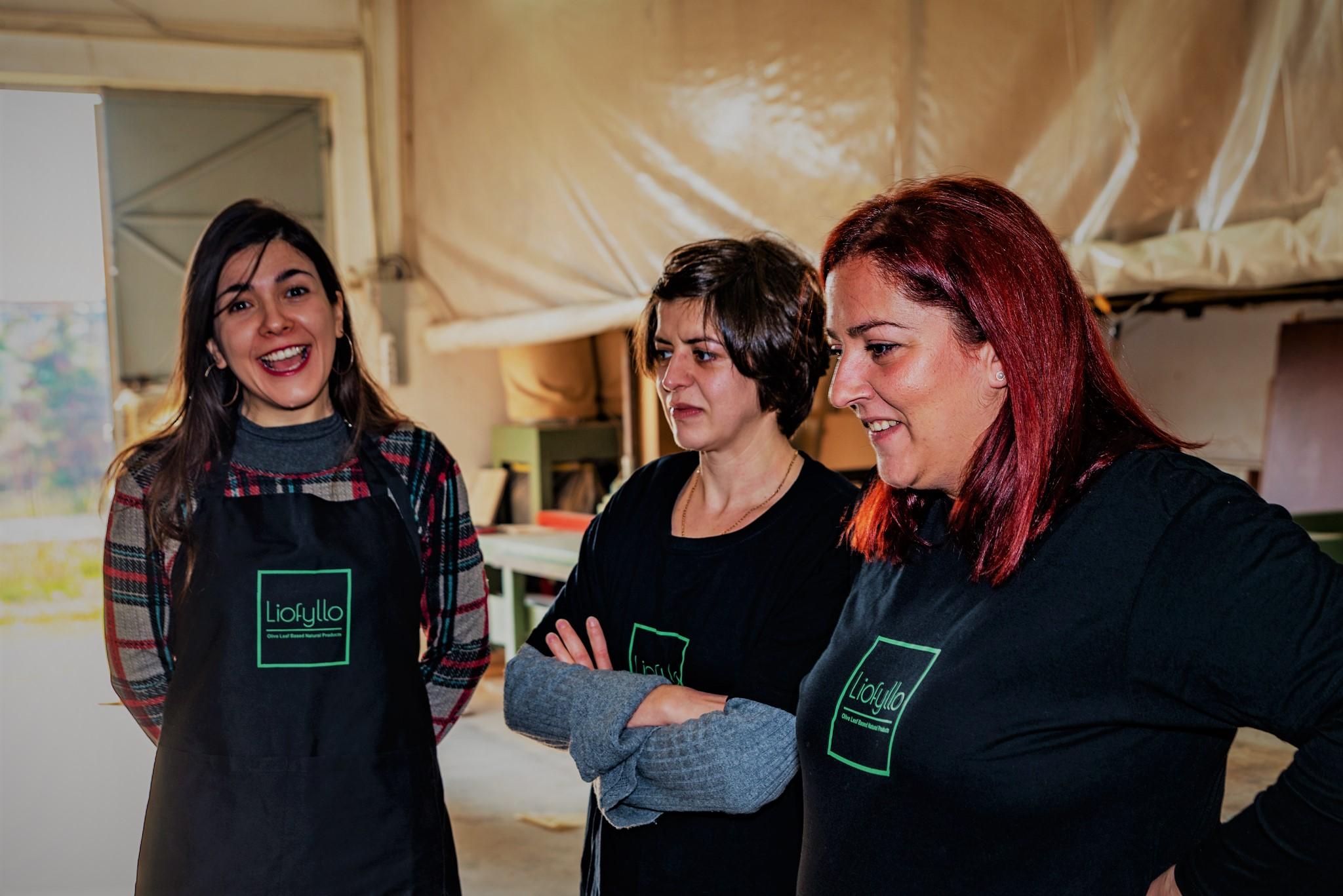 olive leaves impact novel material Greek startup
